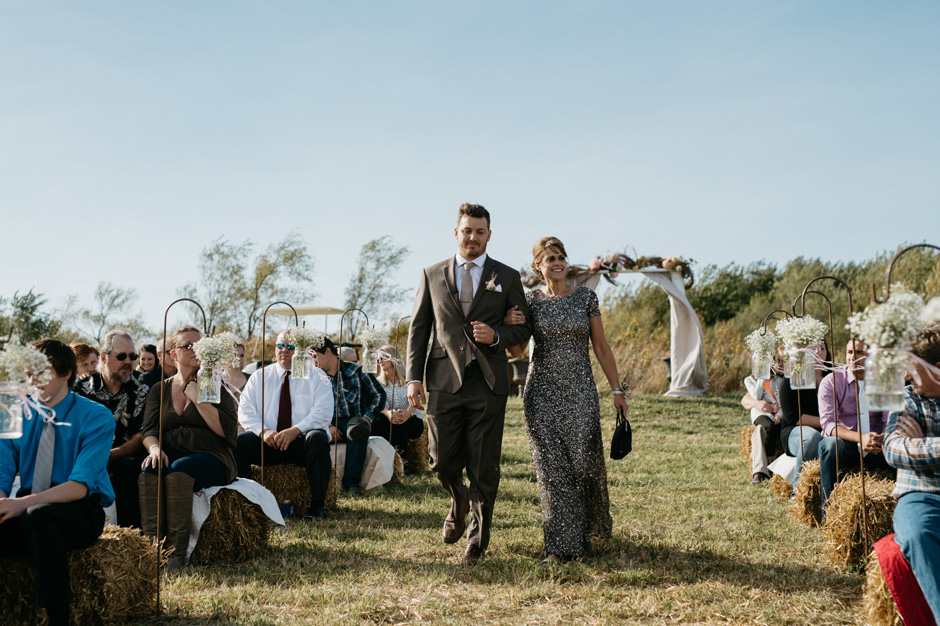 Allison and Dakota's country rustic Adair, IA wedding