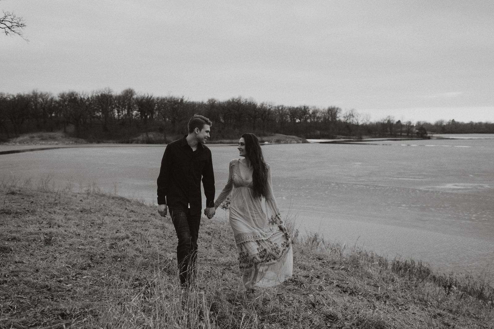 Alex and Jill's West Des Moines Iowa Engagement Session | Iowa Engagement Photographer Brian Davis
