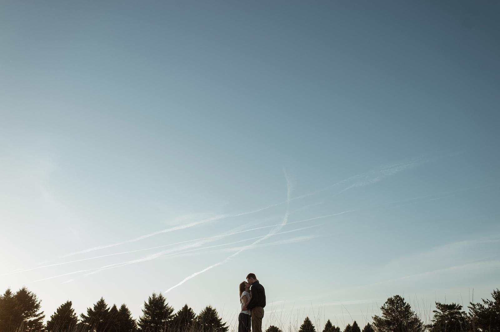 Des Moines Iowa Engagement Photography