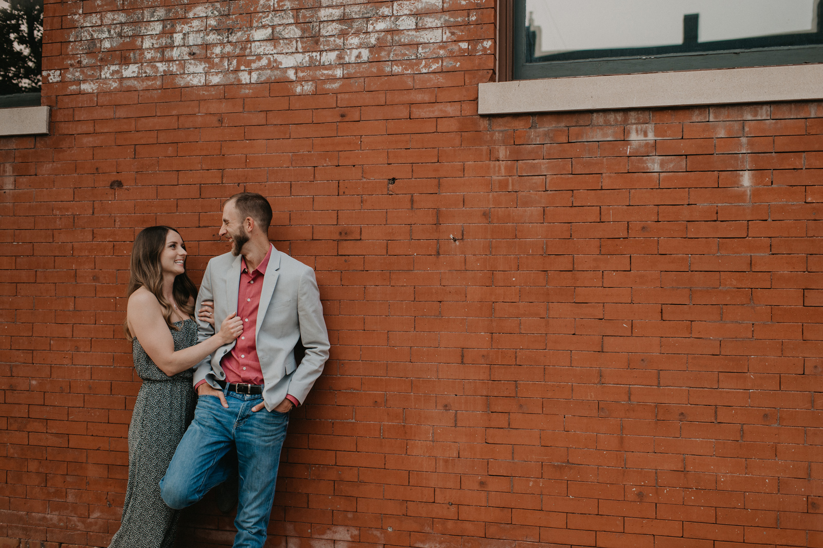 Paul and Kyla's Des Moines Iowa Engagement Session
