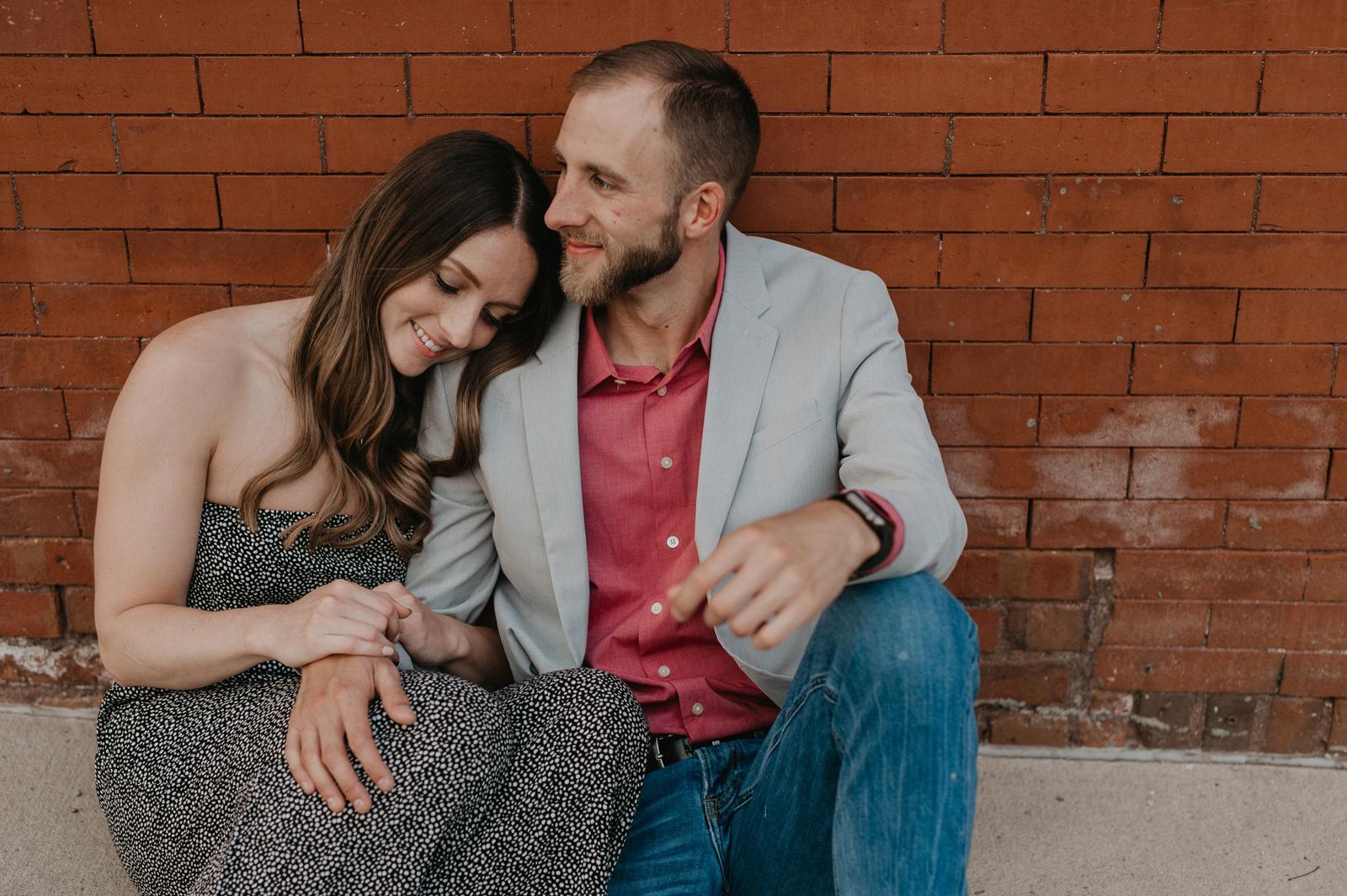 Paul and Kyla's Des Moines Iowa Engagement Session