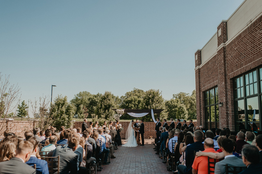 Justin and Indira's Noah's Event Center Wedding in Waukee Iowa |