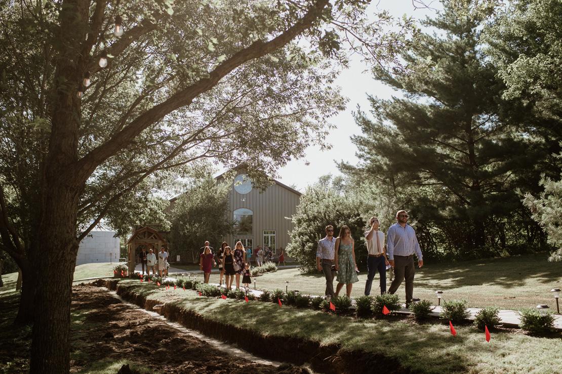 Alex and Jill's Barnes Place Wedding | Des Moines Wedding Photog