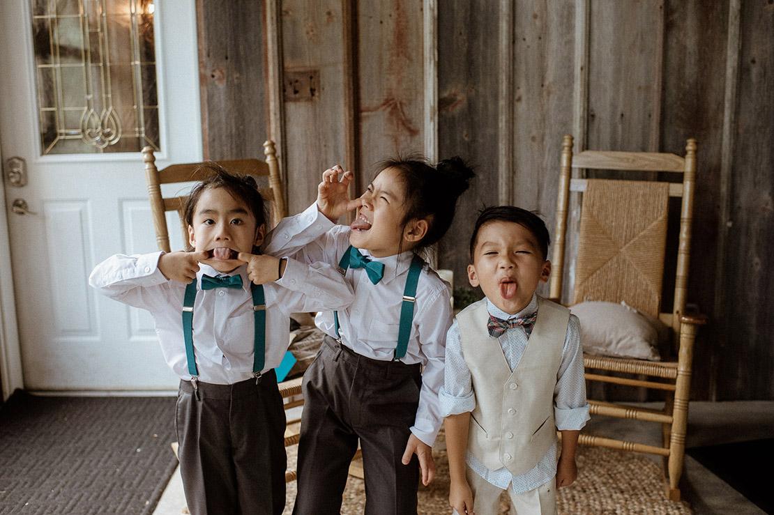 Funny Face Contest | Iowa Wedding Photographer Brian Davis