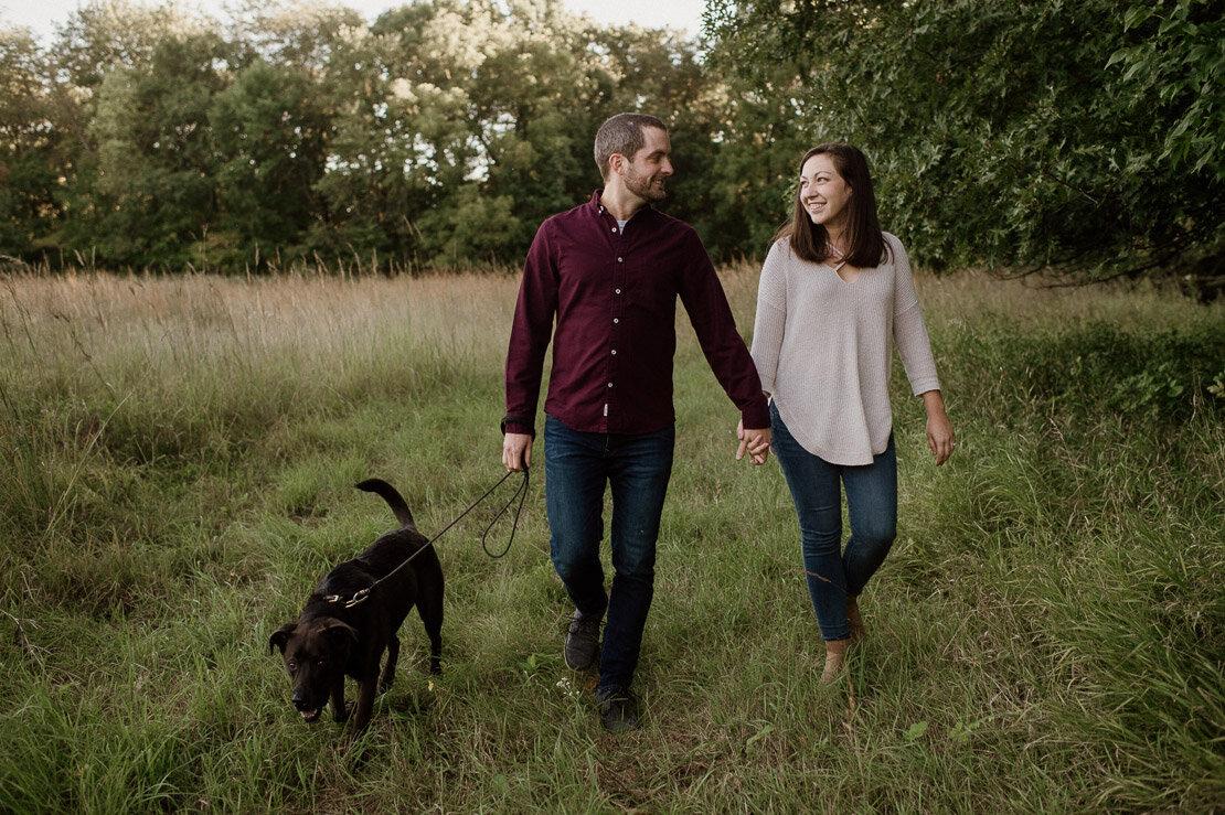 Katie + Michael's Des Moines Engagement | Iowa Wedding Photograp