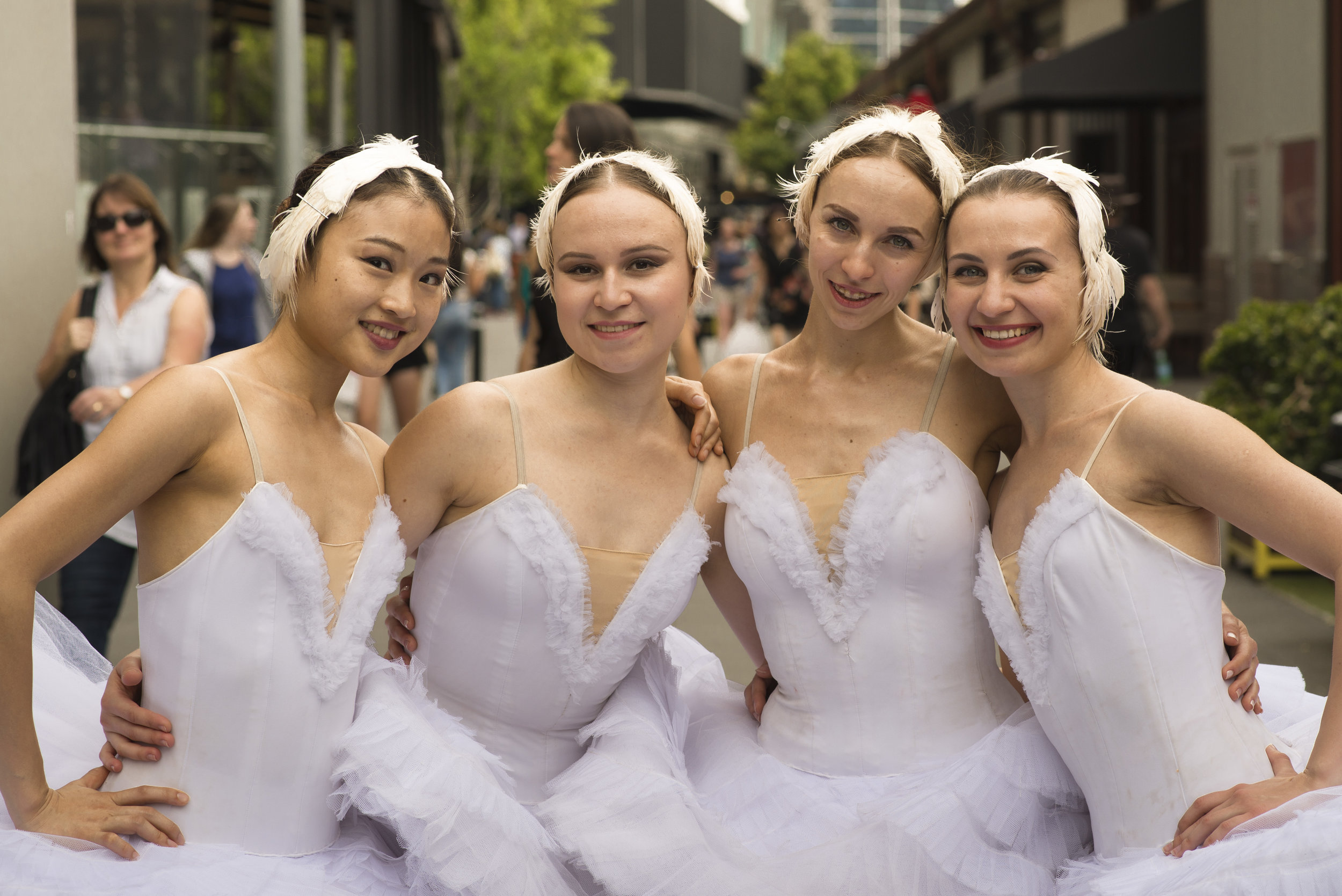 The Girls: Arisa Hashimoto, Olga Naumova, Anastasia Chava & Valeriya Andropova