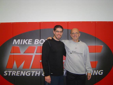 With Mike Boyle - Legendary Fitness coach