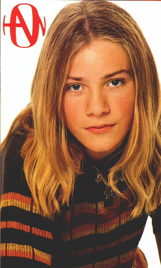Whatever, I still say she's the cutest Hanson brother.