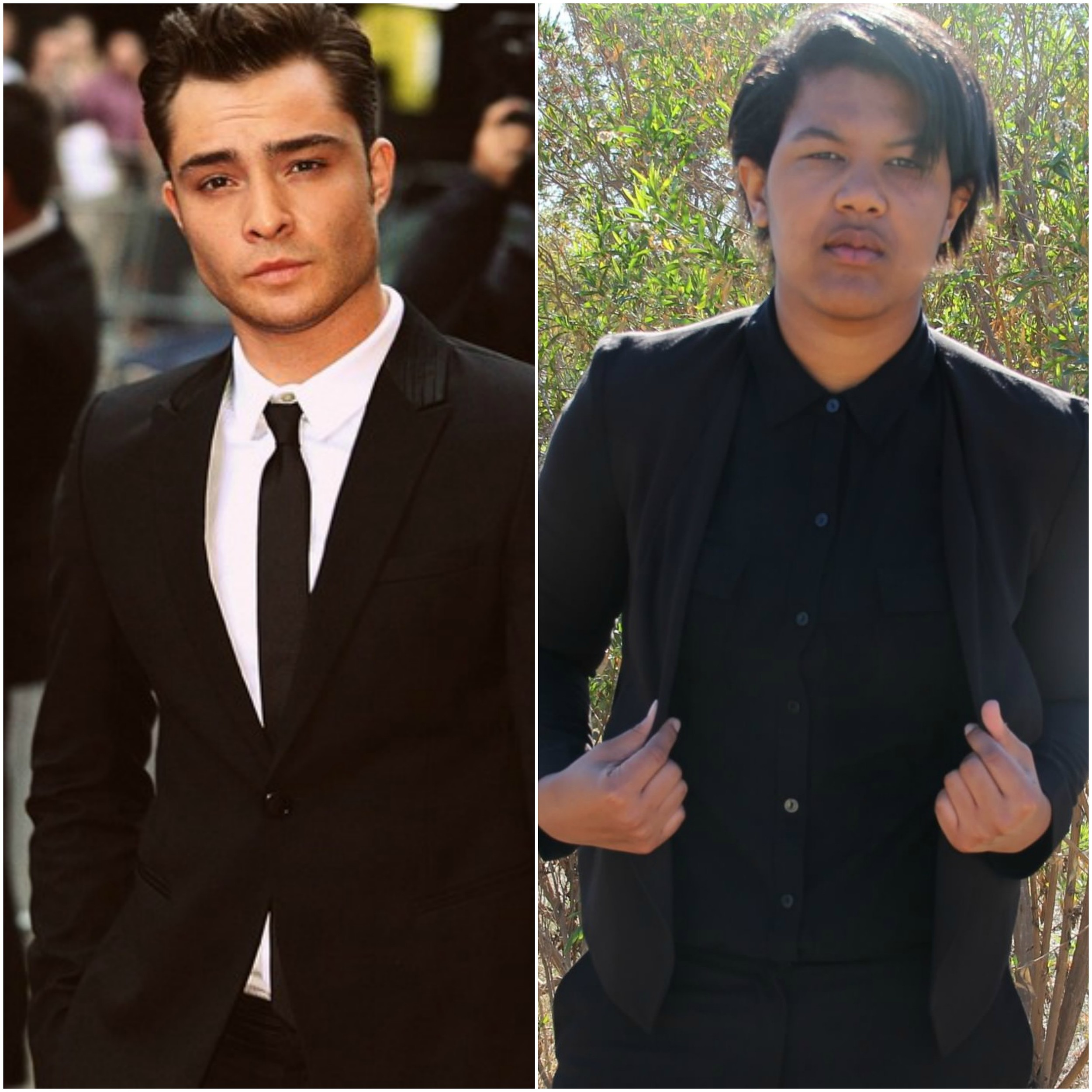 I will say, I do pull off Chuck Bass pretty well, if only in aesthetics.