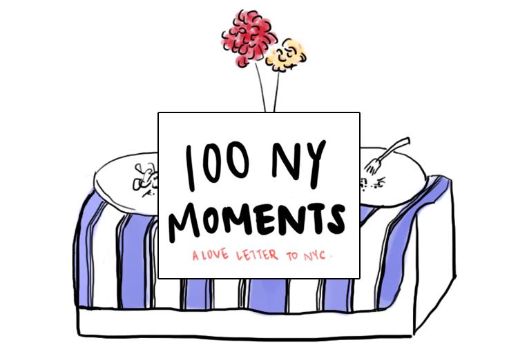 #100NYMOMENTS