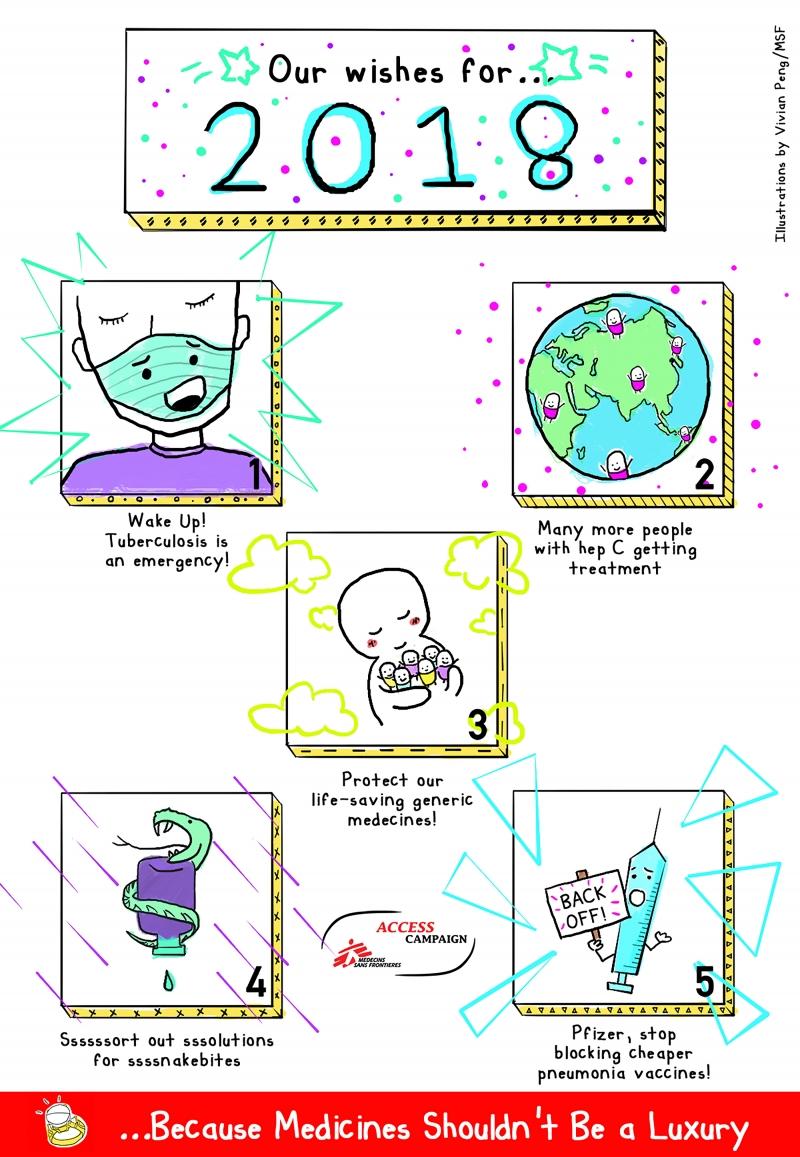 Illustrations, animations
