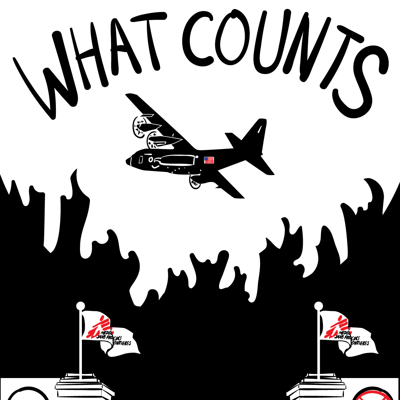 WHAT COUNTS - This piece explores what happened on October 3, 2015, when a Doctors Without Borders hospital in Kunduz, Afghanistan is bombed by the United States.