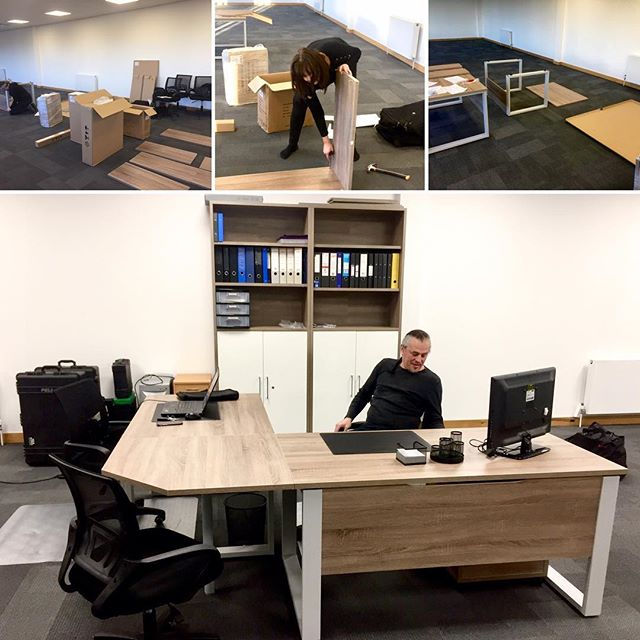 January 2019 was quite busy at Touring Solutions. As well as providing production management for Maddie & Mackenzie's Ultimate Dance Masterclass and beginning preparations for the summer of 2019, we have relocated our office from Watford to Hayes. As you can see we've been busily getting everything in place for the 2019 schedule ahead. #touringsolutions #production #maddieandmackenzietour