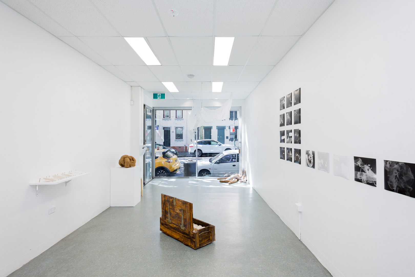 Documentation by  Docqment Photo  , Installation shot at  Stacks Projects  (photo 1-12)