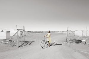 6 andu: A son's story: Michael Cook,  Sunshine Coast    Michael Cook,  Mother (Bicycle) , 2016, inkjet print on paper, 80 x 120cm, edition of 8; image courtesy the artist and Andrew Baker Art Dealer, Brisbane