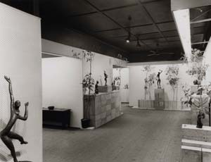 8 The Johnstones: A local history of art: ZOË DE LUCA   Installation view of Guy Boyd exhibition at The Johstone Gallery, Brisbane, 23 November – 20 December 1969; The Johnstone Gallery Archive, Australian Library of Art, State Library of Queensland; scrapbook, p.6. RBHARC. 7/1/12. ALA/SLQ