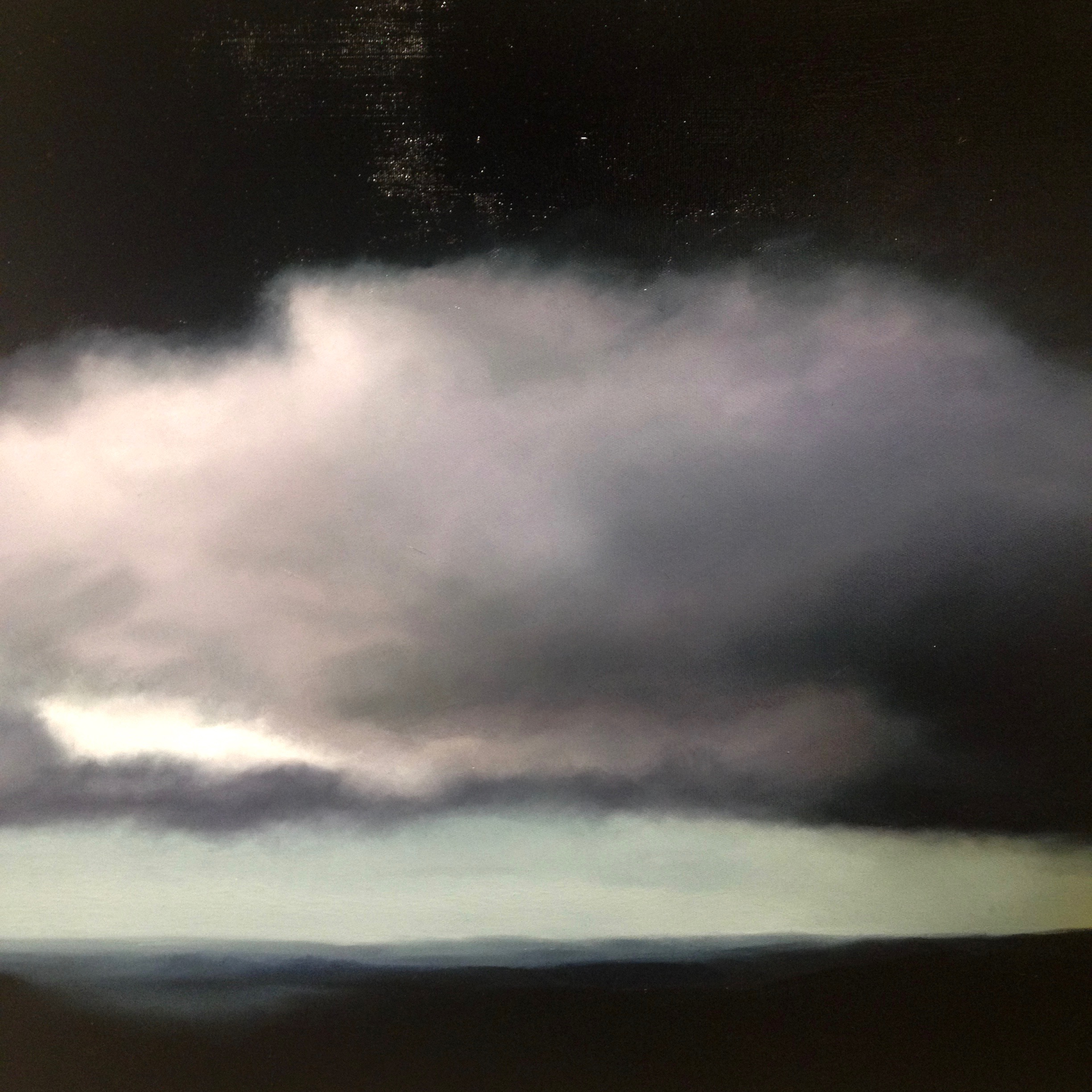 Detail of  Storm from Mount Ainslie  by Alicia Mozqueira; image courtesy the artist and beaver galleries, canberra