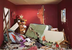 6 Jeff Wall: Looking at the unseen: JOHN BARRETT-LENNARD   Jeff Wall,  The Destroyed Room , 1978, transparency in light box, 159 x 234cm; image courtesy and © the artist