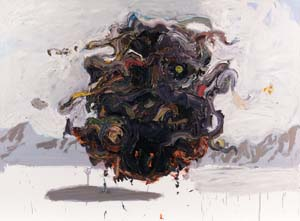 9 Ben Quilty: After Afghanistan: LAURA WEBSTER   Ben Quilty,  Kandahar , 2011, oil on linen, 140 x 190cm; collection of the Australian War Memorial, Canberra, acquired under the official art scheme in 2012