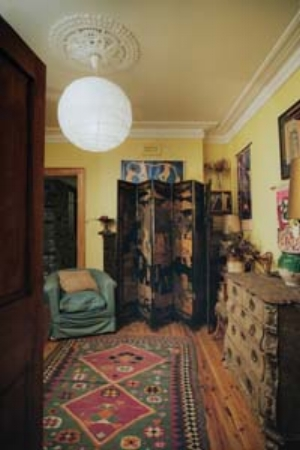 1 Olleywood: CHRISTINE FRANCE   View of the 'yellow room' at the Margaret Olley Art Centre; image courtesy Tweed Regional Gallery, Murwillumbah