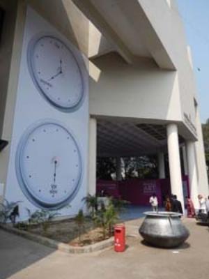 1 Eating pulau with ghee: Dhaka Art Summit 2014: MAURICE O'RIORDAN   Dhaka Art Summit 2014; image courtesy of Maurice O'Riordan