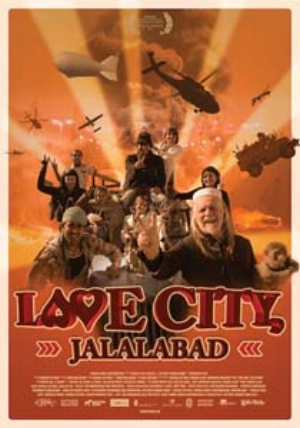 4 Love City Jalalabad: George Gittoes in Afghanistan: ROD PATTENDEN   Movie Poster,  Love City Jalalabad , 2013