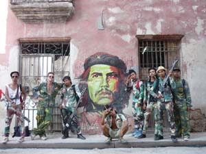 8 PUNKASILA at MUMA: NICOLAS LOW    Punkasila: La mision a Cuba del rock combativo  , 10th Havana Biennial 2009, La Habana Viela (Old Havana). Photograph by Reynier Rodriguez Vazquez