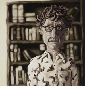 7 Portraying contemporary art: The Archibald Portrait Prize 2011: ARIELE HOFFMAN   Amanda Marburg,  DA  (David Astle), oil on linen