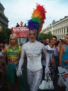 24 Fashionable Pride in Madrid: JUSTINE BAYOD ESPOZ   Scene from the Madrid Pride Parade, 2011. Photographs by Justi ne Bayod Espoz.