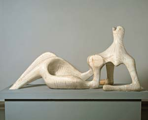 9 Father Figure: Reconsidering Henry Moore and his Australian influence: ALEX J. TAYLOR   Henry Moore,  Reclining Figure , 1951. Tate © Reproduced by permission of The Henry Moore Foundation