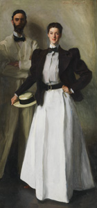 9 New York Yankees in Queensland's Court, ALAN DODGE   John Singer Sargent,  Mr and Mrs I N Phelps Stokes , 1897, oil on canvas, 214 x 101cm. Bequest of Edith Minturn Phelps Stokes (Mrs IN) 1938 (38.104). Collection: The Metropolitan Museum of Art. Image © The Metropolitan Museum of Art, New York.