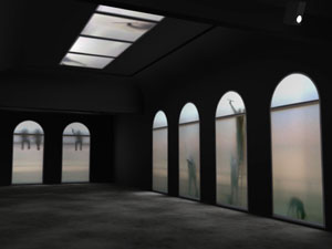 7 When in Venice ...: MARTYN JOLLY   Krzysztof Wodiczko,  Visitors , 2008/2009, video projection. Image courtesy the artist and Profile Foundation