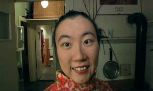6 Shanghai High & Higher: MAURICE O'RIORDAN   Effie Wu,  Super Smile , 2007, still from one channel video, mini DV Pal. One of the standout works from  ShContemporary 08: Best of Discovery exhibition . Image courtesy artist and Connoisseur Contemporary Gallery, Hong Kong