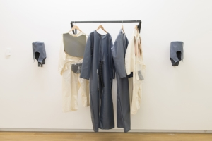 13 Actions and reflections: 'Space to Dream: Recent Art from South America': Toni Ross,  Auckland    Lygia Clark,  O eu e o tu (The I and the you),  1967/2016, installation view, Auckland Art Gallery, 2016; industrial rubber, foam, fabric, vinyl, acrylon, zipper, plastic brush, horsehair, plastic, 170 x 68 x 8cm (each); The World of Lygia Clark Cultural Association, Rio de Janeiro; image courtesy Auckland Art Gallery Toi o Tāmaki