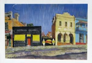 6 'For your enjoyment': Australian Galleries turns 60: Sasha Grishin,  Melbourne    Charles Bush watercolour reproduced for Australian Galleries pamphlet, 1956; image courtesy the Australian Galleries, Melbourne and Sydney