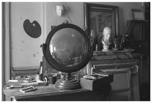 1 Dora and the Minotaur Picasso: Love and war 1935–1945: DAVID HANSEN,  MELBOURNE    Béatrice Hatala,  Dora Maar's apartment at 6 rue de Savoie, Paris, November 1997 , gelatin silver print. Library Musée Picasso, Paris. © Béatrice Hatala