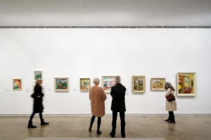7 Towards a global discourse: 'Making Modernism': Sally Quin,  Melbourne    O'Keeffe, Preston, Cossington Smith: Making Modernism, exhibition view, Heide Museum of Modern Art, Melbourne, 2016, featuring the work of Grace Cossington Smith; photo: Jeremy Weihrauch