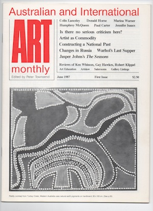 Issue 1 June 1987