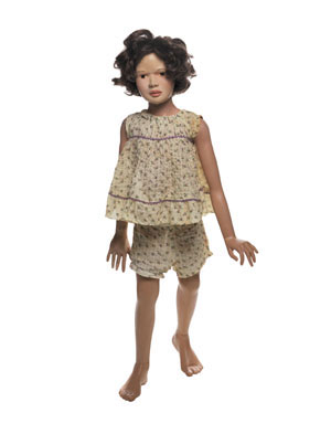 6 Letter from New York: Child's play: ANONDA BELL   Morton Bartlett,  Doll , 1950-65, paint on cast plaster with synthetic hair and fabric. Collection of Dr Siri von Reis