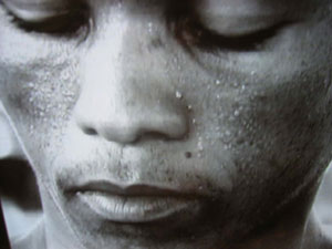 1 How might one live: The 51st Venice Biennale: DENNIS DEL FAVERO   Zwelethu Mthethwa [South Africa],  Flex (video still), 2002, video. Courtesy of Jack Shainman Gallery, New York and Marco Noire Contemporary Art, Torino, Italy   2 Dear Hilary