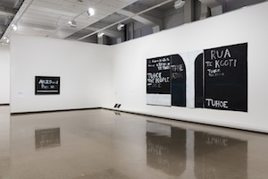 5 Maori Matters: 'Colin McCahon: On Going Out With The Tide': Peter Simpson,  Wellington    Colin McCahon,  On Going Out with the Tide , exhibition install views, City Gallery Wellington, 2017; images courtesy Colin McCahon Research and Publication Trust; photos: Shaun Waugh