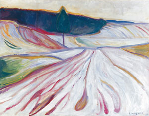 7 Edvard Munch: The frieze of life at the National Gallery of Victoria: ADAM FREE   Edvard Munch,  Loneliness , 1906, oil on canvas. Bergen Kunstmuseum, Bergen, Norway. © Munch-Ellingsen Group.
