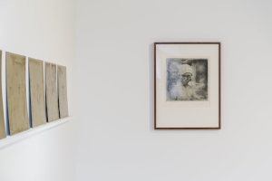 6 Beneath The 'layered otherness' of Dacchi Dang: John Clark,  Sydney    Dacchi Dang,  An omen near and Far , Exhibition detail View, 4A Centre for Contemporary Asian Art, Sydney, 2017, with (from left): Spectacle I, 1996; Untitled, 1996, from the series 'Spectacle II'; image courtesy the artist; photo: Document Photography