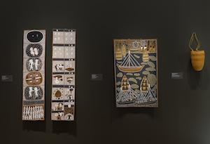 11 Resonating strong 'Sung into Being' at QAGOMA: Sasha Grishin,  Brisbane     Sung into Being: Aboriginal Masterworks 1984–94,  exhibition installation views, Queensland Art Gallery / Gallery of Modern Art (QAGOMA), Brisbane, 2017; photos: Natasha Harth, QAGOMA