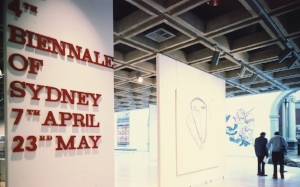 1 SMALL STEPS, LARGER JOURNEY: sYDNEY bIENNALES IN THE 1970S AND 1980S: TERRY SMITH   Installation view, Art Gallery of New South Wales, 4th Biennale of Sydney,1982;image courtesy Biennale of Sydney