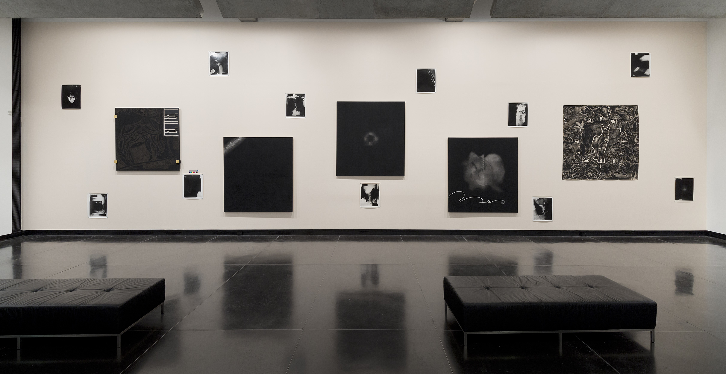 Stieg Persson: Polyphonic , exhibition installation view, Ian Potter Museum of Art, University of Melbourne, 2018; image courtesy the artist and Anna Schwartz Gallery, Melbourne; photo: Christian Capurro