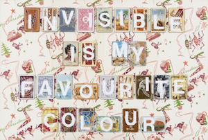 4 making new: tony albert and marian tubbs in conversation   tony albert,  invisibility , 2017, vintage playing cards on found paper, 54 x 81.2cm; image courtesy the artist and sullivan+strumpf, sydney and singapore
