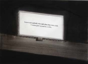 4 The shadow economy: JUSTIN PATON   Euan Macdonald,  Richard Pryor billboard , 2005, ink on paper. Courtesy of the artist, Darren Knight Gallery, Sydney, and Cohan and Leslie, New York