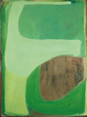 11 Paint: the language: UNA REY   Ildiko Kovacs,  Bounce,  2008, oil on plywood 160 x 120cm. Image courtesy the artist