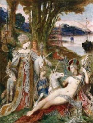 14 Gustav Moreau & The Eternal Feminine: MAURICE O'RIORDAN    The apparition , oil on canvas, 142 x images of work by Gustav Moreau. Image courtesy the Musée Gustav Moreau, Paris. © Photo RMN – René-Gabriel Ojéda